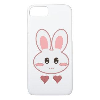 Amor bonito do coelho capa iPhone 8/7