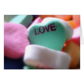 Amor Cartão Comemorativo