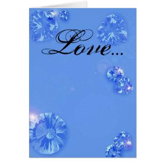 Amor… Cartão Comemorativo
