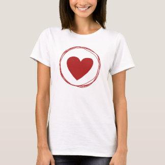 Amor Coração Tshirt