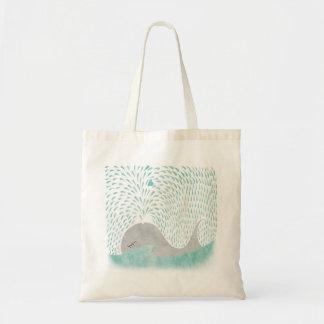 Amor da baleia bolsa para compra
