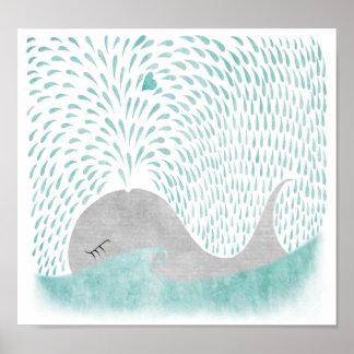 Amor da baleia poster