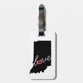 Amor de Indiana!  Presentes para em amantes Tag Para Mala