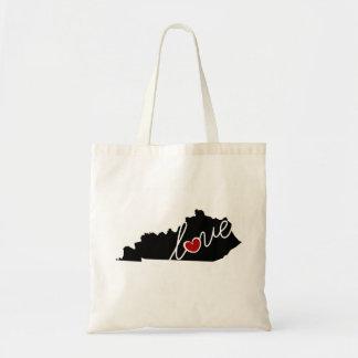 Amor de Kentucky!  Presentes para amantes das KY Sacola Tote Budget