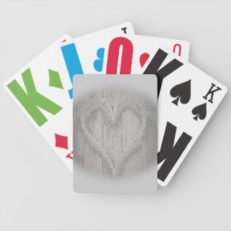 Amor desvanecido jogo de baralho