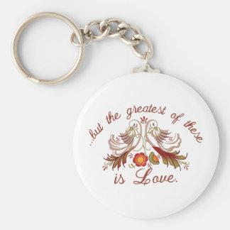 Amor do casamento chaveiro