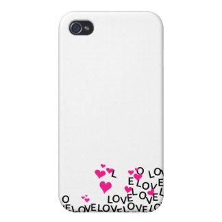 Amor do dia dos namorados iPhone 4 capa