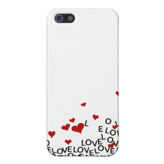 Amor do dia dos namorados iPhone 5 capa