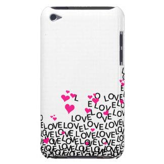 Amor do dia dos namorados capa iPod Case-Mate