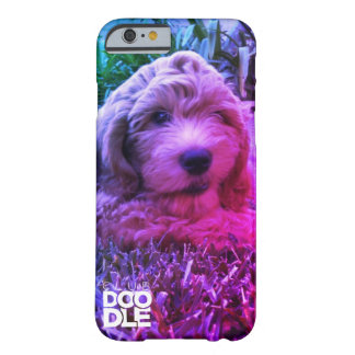 Amor do Doodle Capa Barely There Para iPhone 6