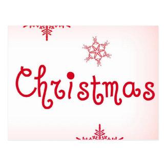 Amor do Feliz Natal Cartão Postal