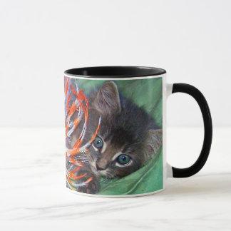 Amor do gatinho caneca