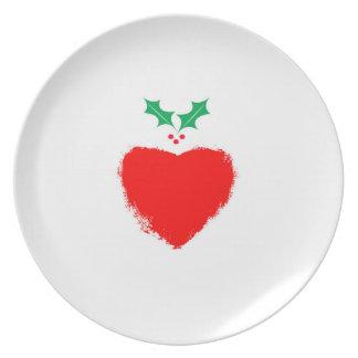 Amor do Natal Prato