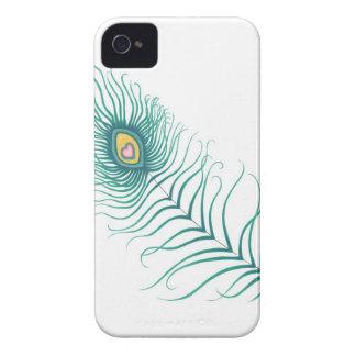 Amor do pavão capas para iPhone 4 Case-Mate