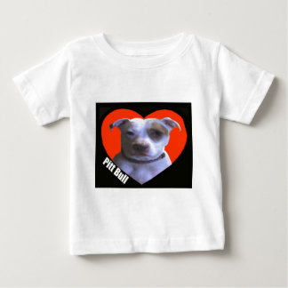 Amor do pitbull camiseta