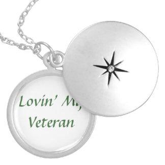 Amor do veterano colar medalhão