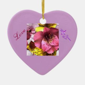 Amor e ornamento do dia dos namorados do coração