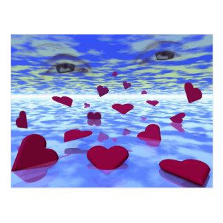 Amor eterno cartão postal