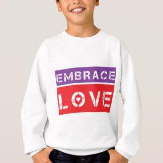 Amor Logowear do abraço Camisetas