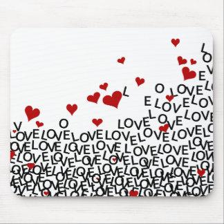 Amor Mousepad do dia dos namorados