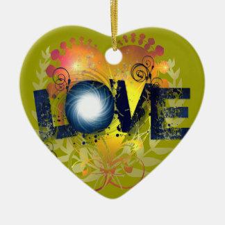 Amor Ornamento Para Arvores De Natal