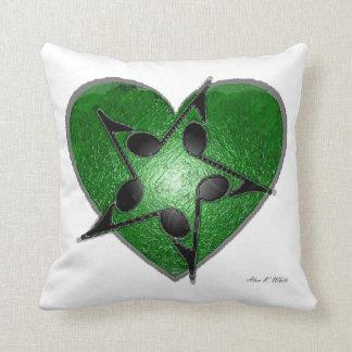 Amor para a música! travesseiro de decoração
