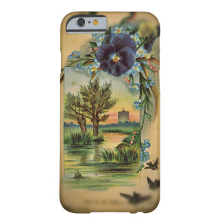 Amor perfeito do Victorian pastoral Capa Barely There Para iPhone 6
