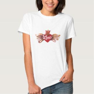 Amor pintado camisetas