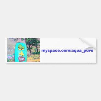 Amor puro do carro do Aqua Adesivo Para Carro