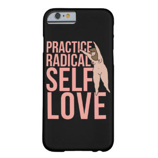 Amor radical do auto da prática capa barely there para iPhone 6