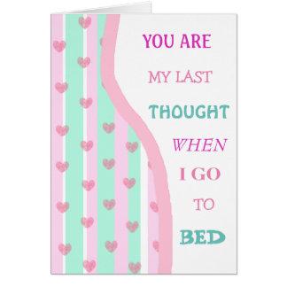 Amor romântico para o cartão dos casais