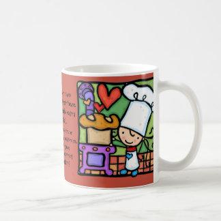 Amores de LittleGirlie para cozer a padaria do pão Caneca De Café