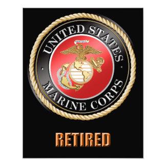 Ampliação aposentada USMC da foto