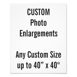 """Ampliação da foto do costume 280x350mm até 40"""" x40 impressão de foto"""