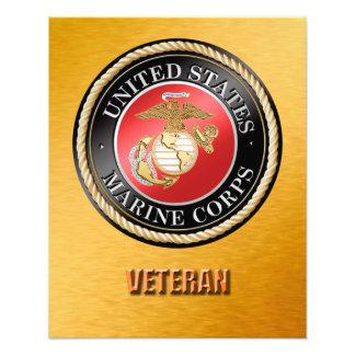 Ampliação da foto do veterano do USMC