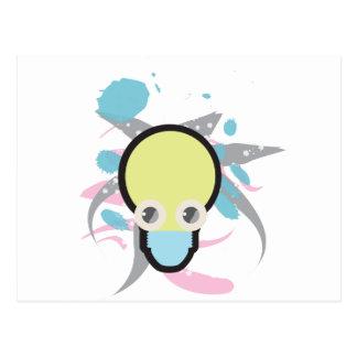 Ampola de Kawaii Cartão Postal