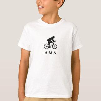 AMS de ciclagem holandês de Amsterdão Camiseta