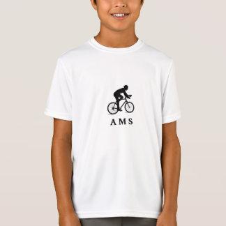 AMS de ciclagem holandês de Amsterdão Camisetas