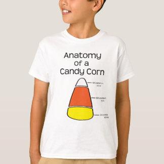 Anatomia de um milho de doces camiseta