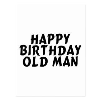 Ancião do aniversário cartões postais