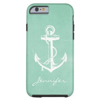 Âncora náutica capa tough para iPhone 6