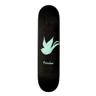 Andorinha da liberdade shape de skate 20,6cm