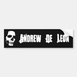 Andrew De Leon - autocolante no vidro traseiro do  Adesivo Para Carro