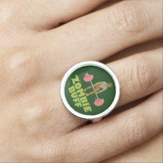 Anéis Com Imagem Elevador de peso engraçado do lustre do zombi