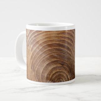 Anéis de árvore jumbo mug