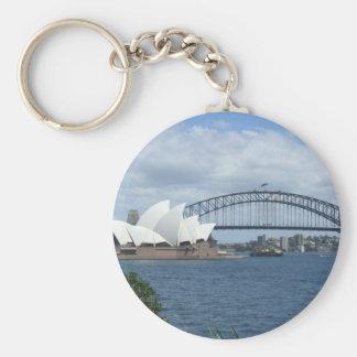 Anel chave do porto de Sydney Chaveiro