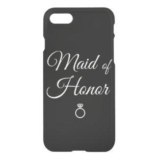 Anel da madrinha de casamento capa iPhone 7