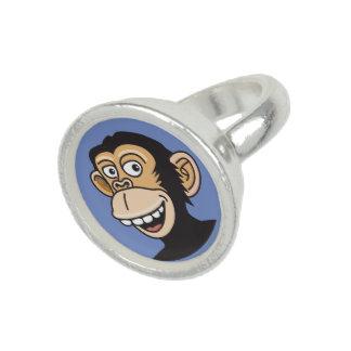 Anel Macaco feliz