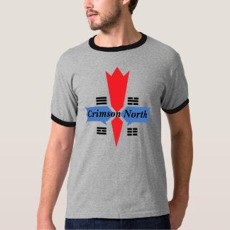Anel-T norte carmesim Camiseta