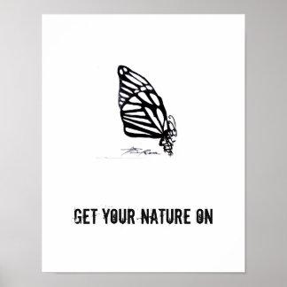 Animais da tutela da natureza do poster dos